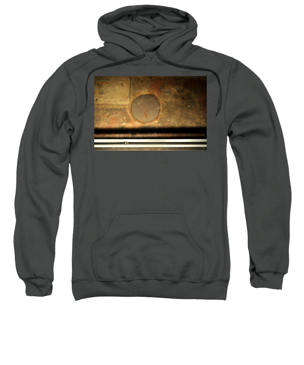 Manhole Sweatshirt featuring the photograph Carlton 15 - Square Circle by Tim Nyberg