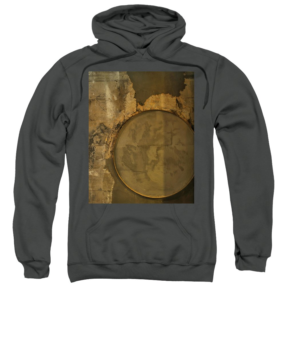 Concrete Sweatshirt featuring the photograph Carlton 3 - Abstract Concrete by Tim Nyberg