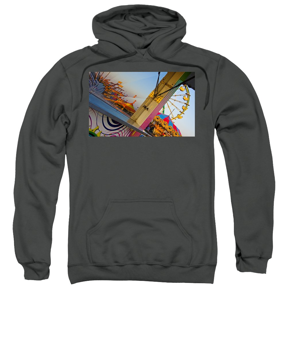 Carnival Sweatshirt featuring the photograph Carnival 1 by Skip Hunt