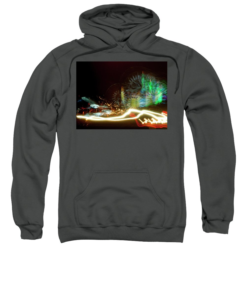 Photography Sweatshirt featuring the photograph Carnival by Steven Natanson