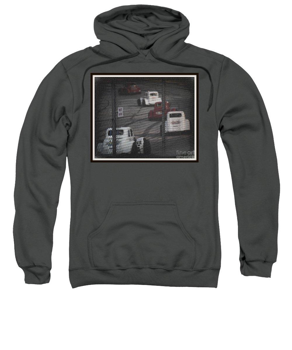 Cars Sweatshirt featuring the photograph Cars by Anita Goel