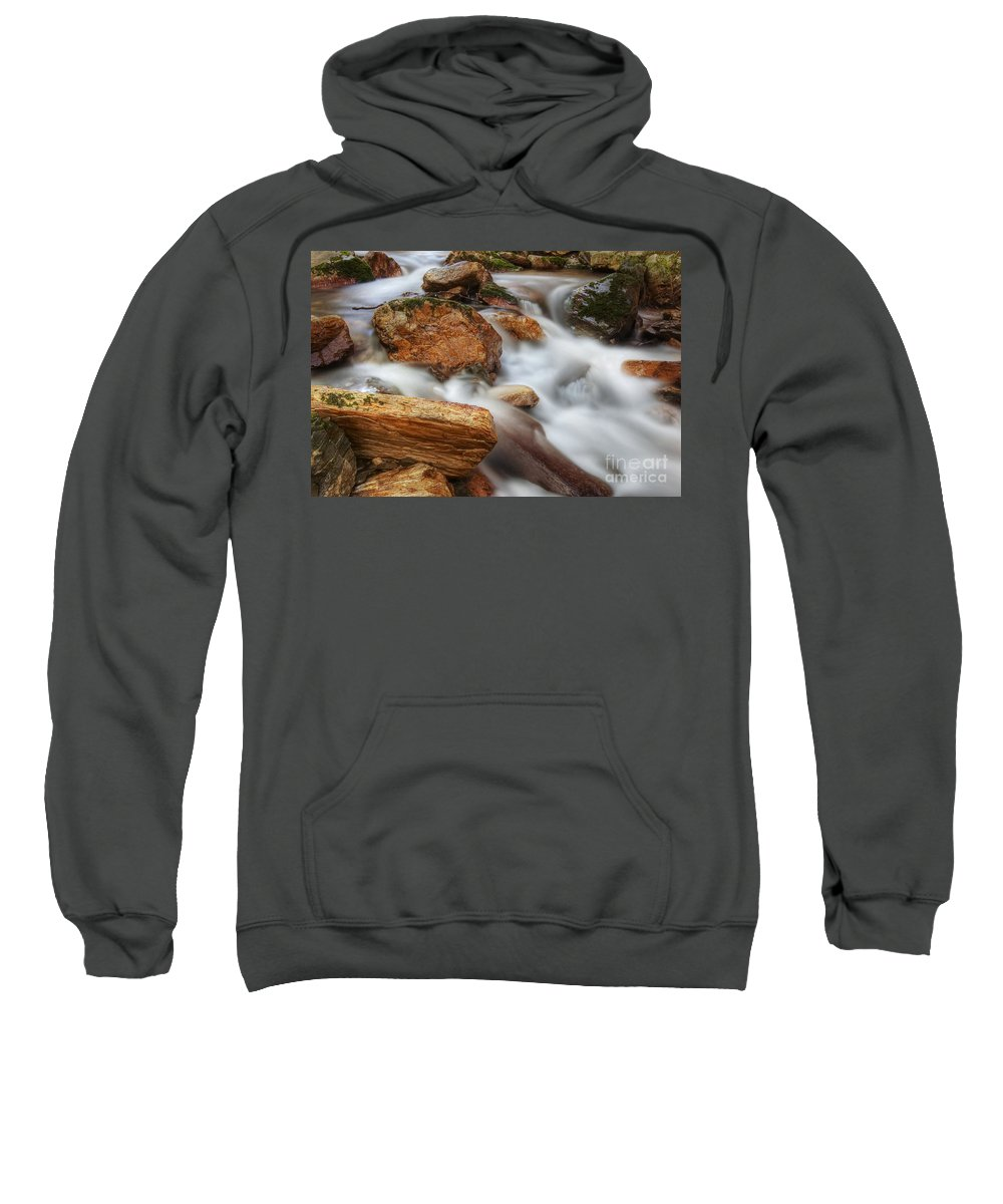 Water Sweatshirt featuring the photograph Cataracts by Michal Boubin