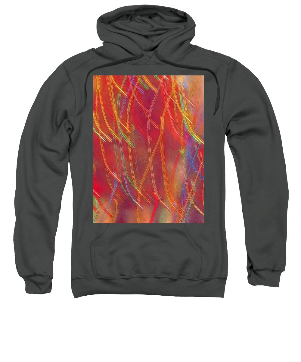 Abstract Sweatshirt featuring the photograph Celebration by Gaby Swanson
