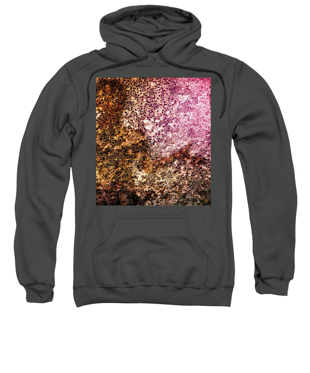 Abstract Sweatshirt featuring the photograph Cement Soul by Bob Orsillo
