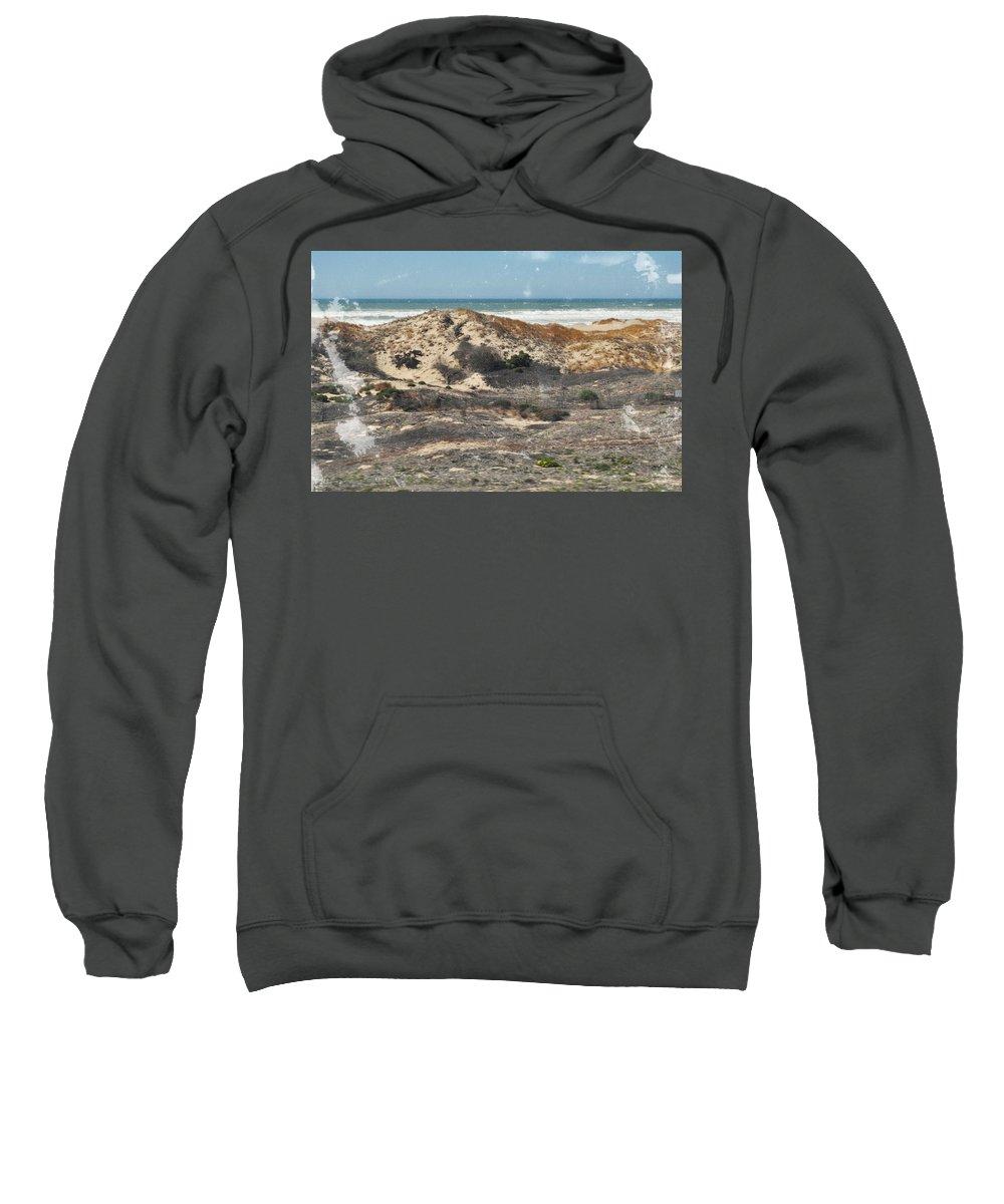 San Luis Obispo Sweatshirt featuring the photograph Central Coast Sand Dunes by Kyle Hanson