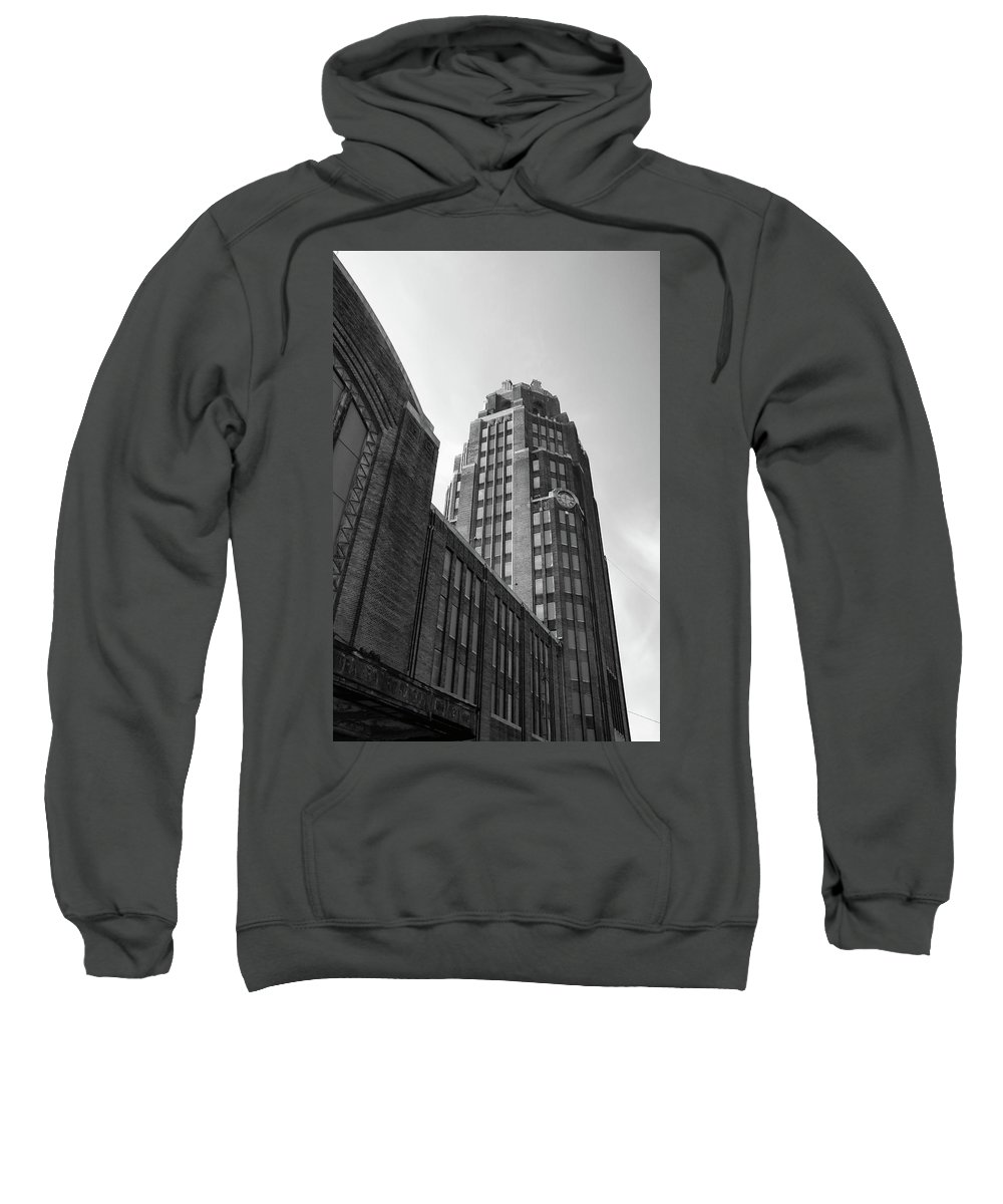 Buildings Sweatshirt featuring the photograph Central Terminal 15142 by Guy Whiteley