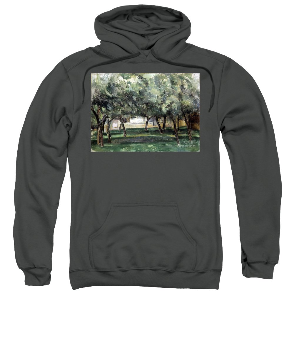 19th Century Sweatshirt featuring the photograph Cezanne: Le Clos Normand by Granger