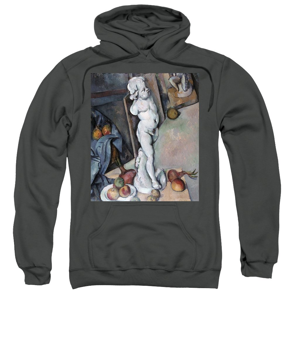 1895 Sweatshirt featuring the photograph Cezanne: Sill Life, C1895 by Granger
