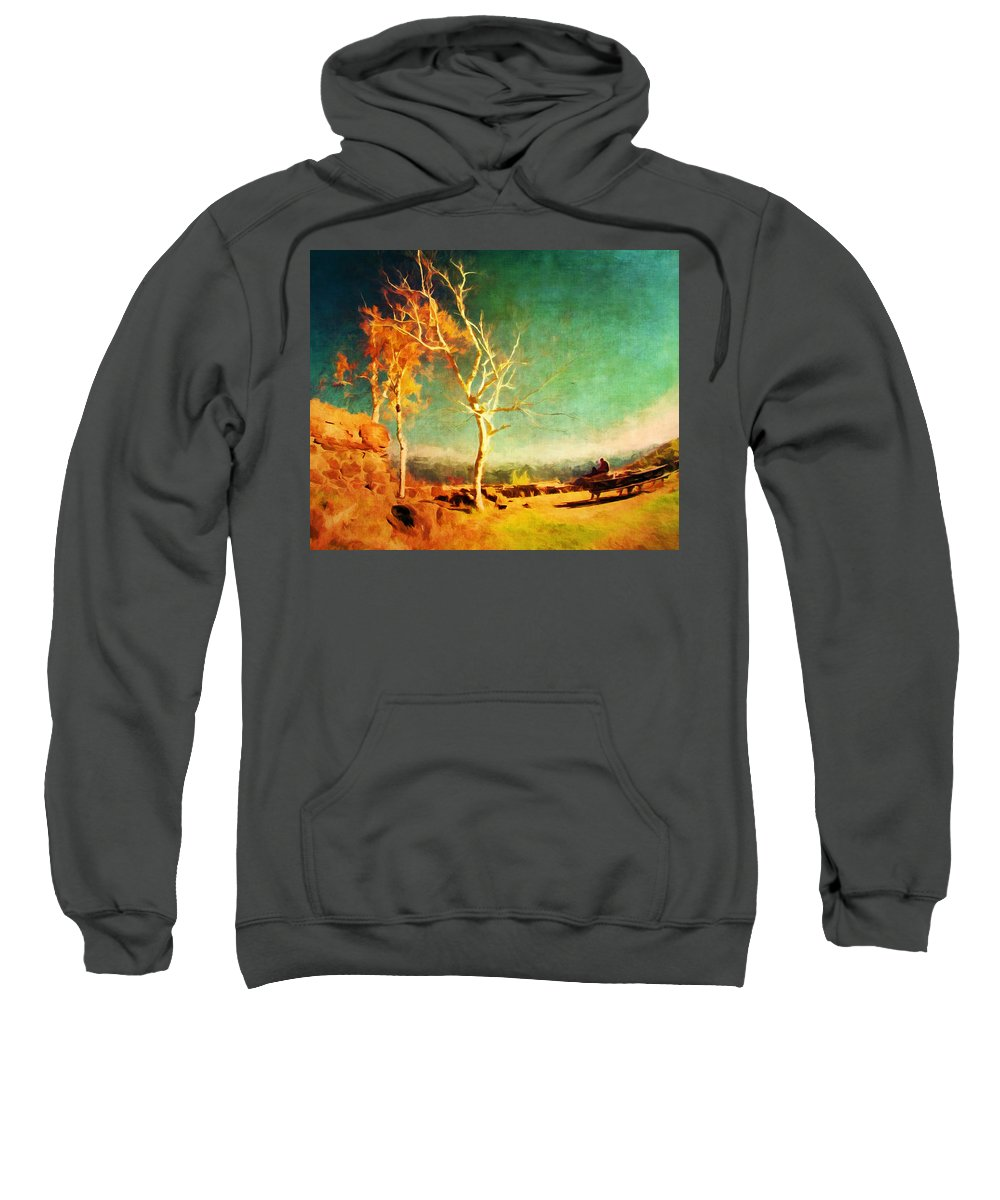 Fall Sweatshirt featuring the photograph Change Vii by Tina Baxter