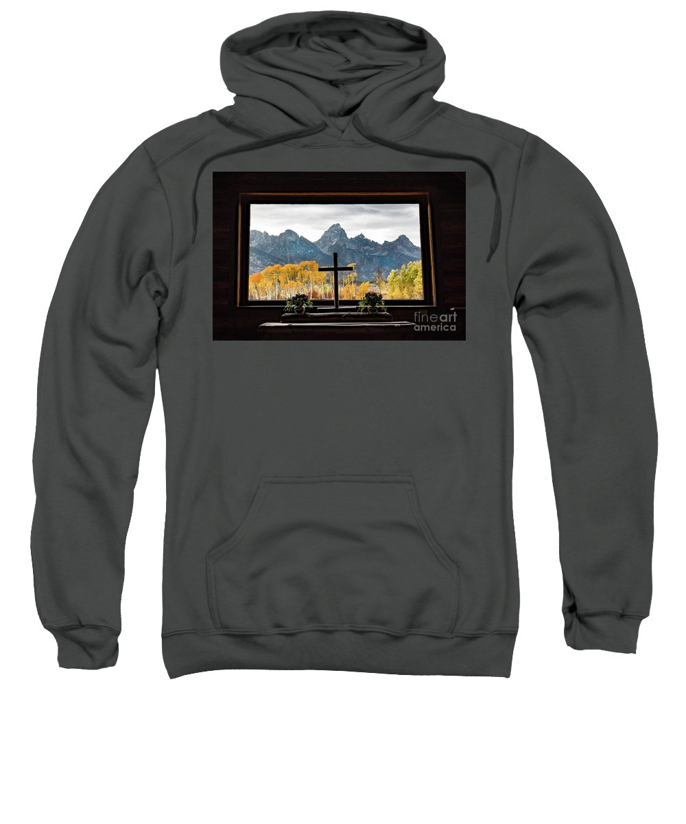 Chapel Of The Transfiguration Sweatshirt featuring the photograph Chapel Of The Transfiguration by Lynn Sprowl