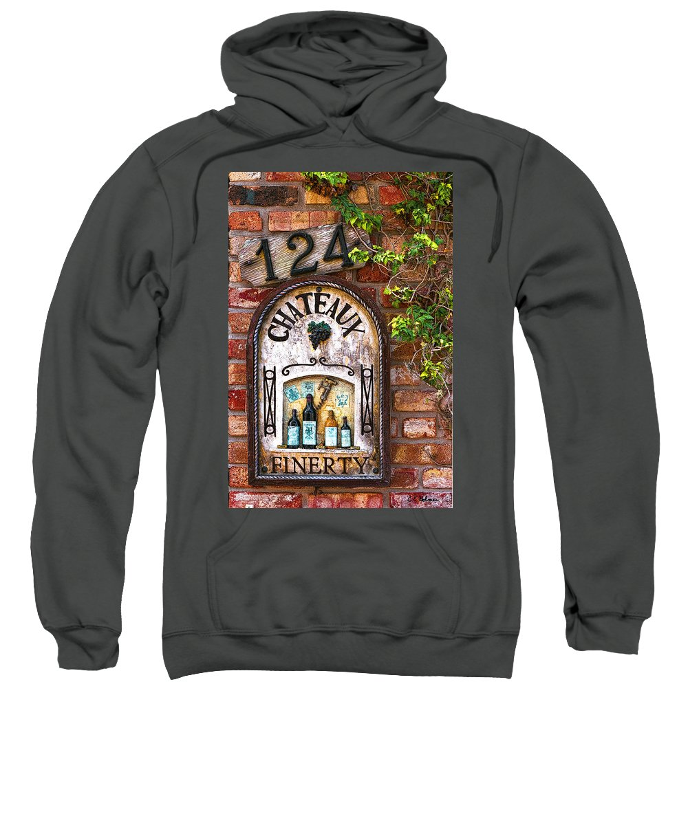 Wall Sweatshirt featuring the photograph Chateaux Finerty by Christopher Holmes