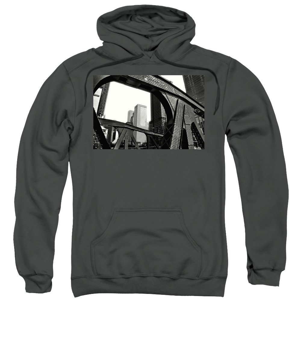 Chicago Sweatshirt featuring the photograph Chicago 2 by Frank Verreyken