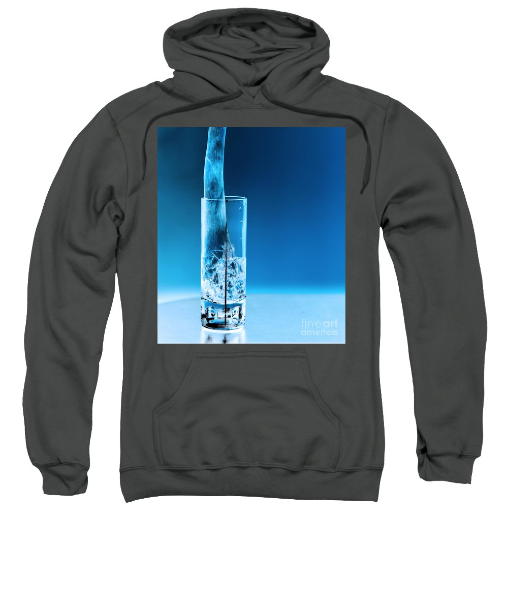 Bar Sweatshirt featuring the photograph Chicago Bar by Amanda Barcon