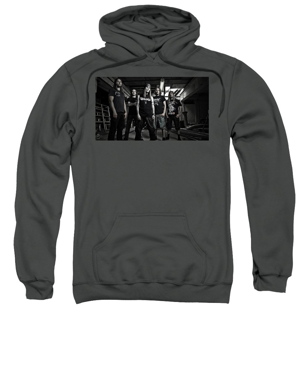 Children Of Bodom Sweatshirt featuring the digital art Children Of Bodom by Bert Mailer