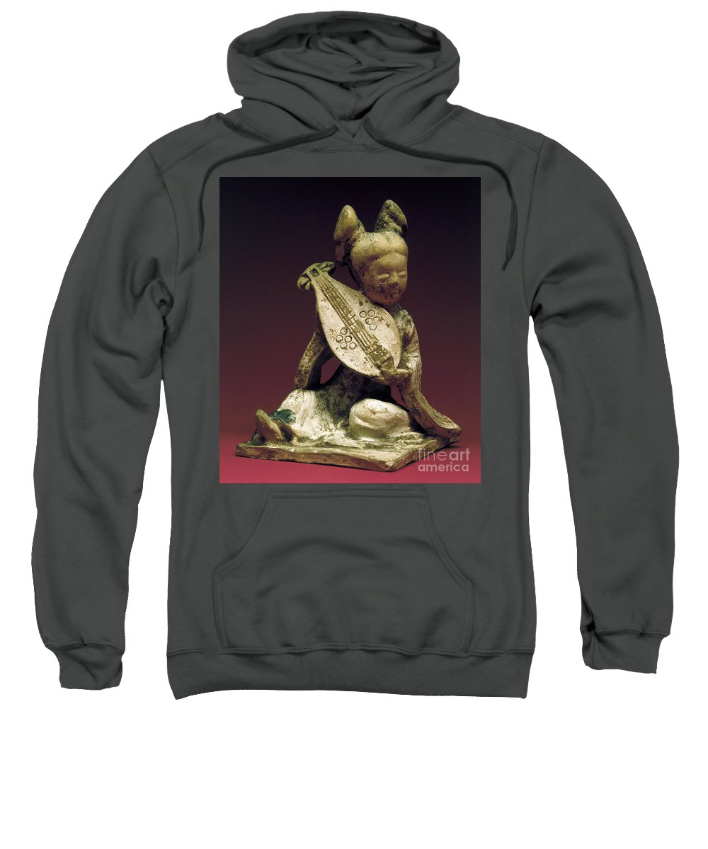10th Century Sweatshirt featuring the photograph China: Musician by Granger