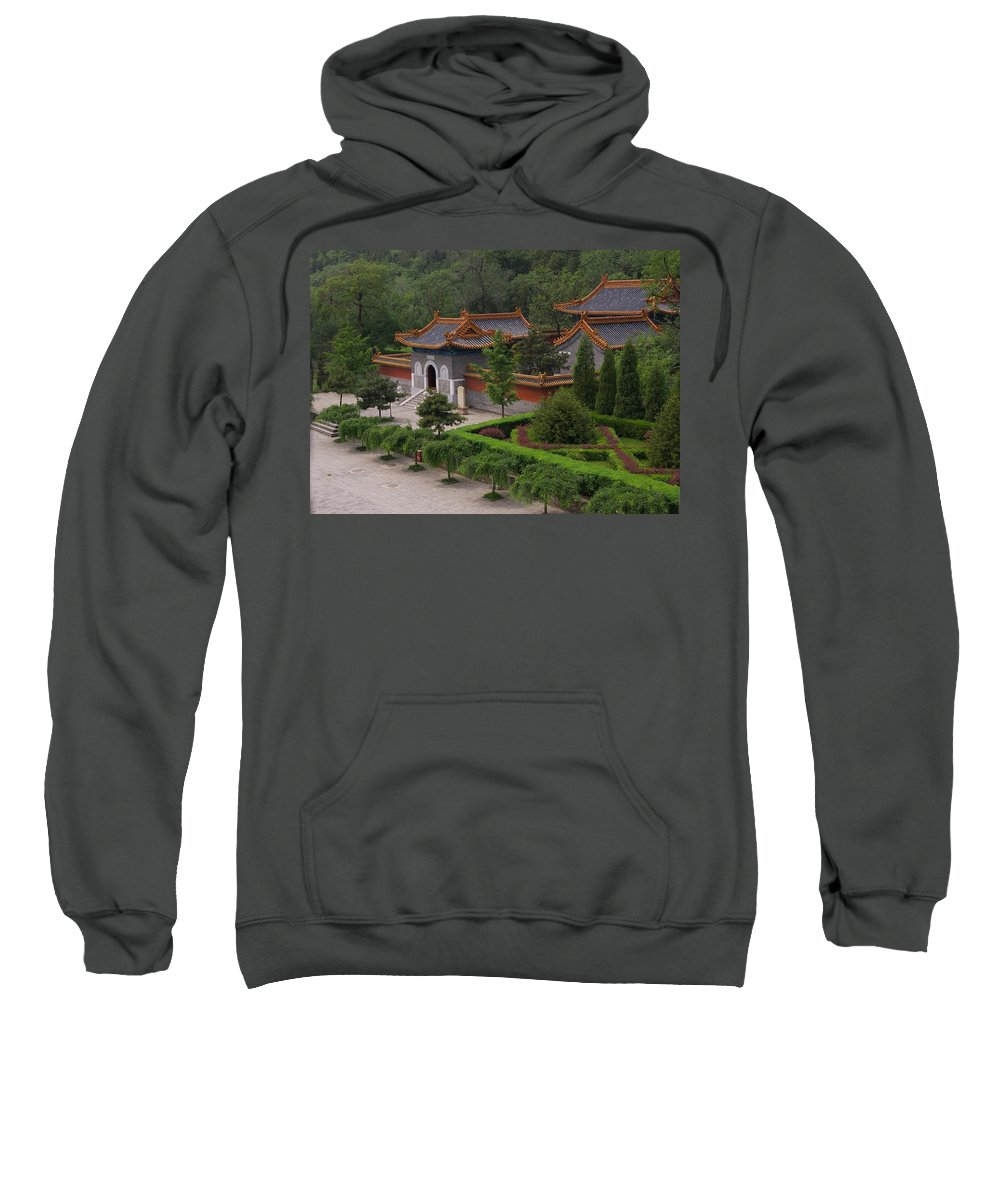 China Sweatshirt featuring the photograph Chinese Palace by Tom Reynen