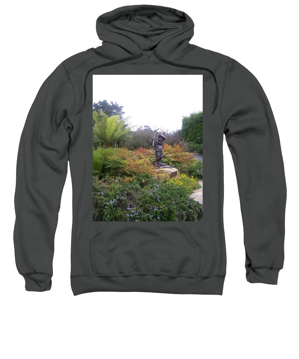 Child Sweatshirt featuring the photograph Chip Off The Old Block by Pharris Art