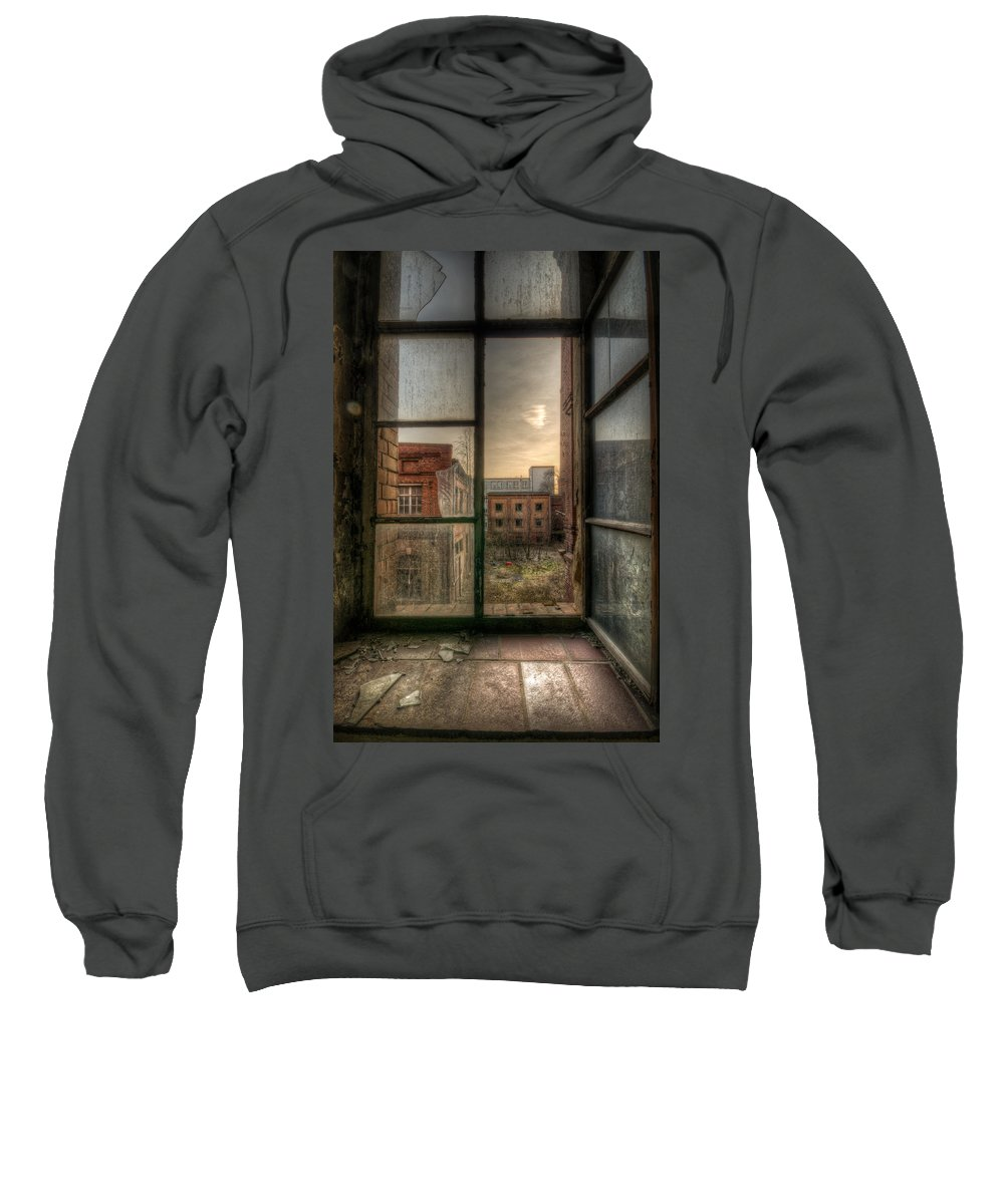 Urebx Sweatshirt featuring the digital art Chocolate Sunset by Nathan Wright