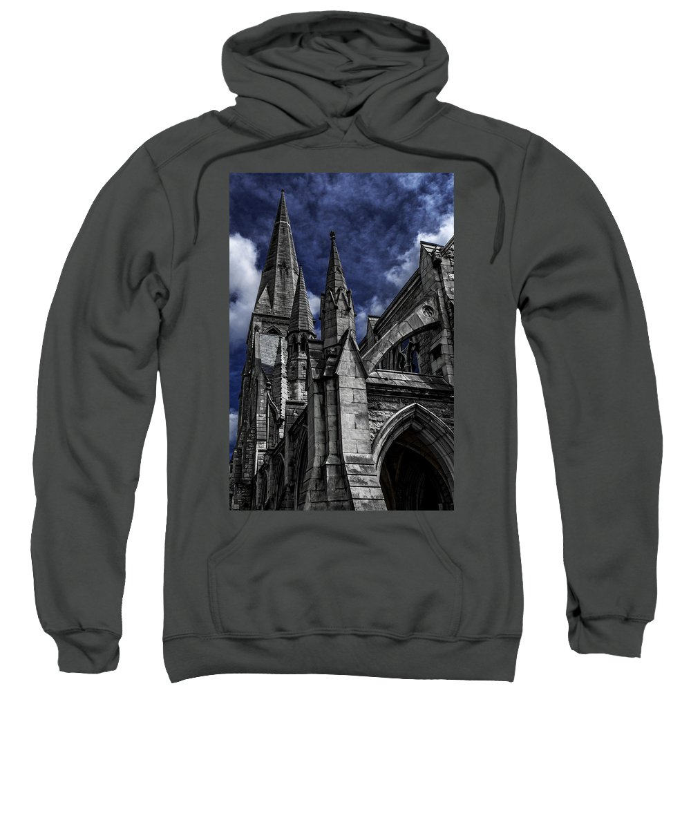 St Andrew's Church Sweatshirt featuring the photograph Church Of Ireland by Joseph Yvon Cote