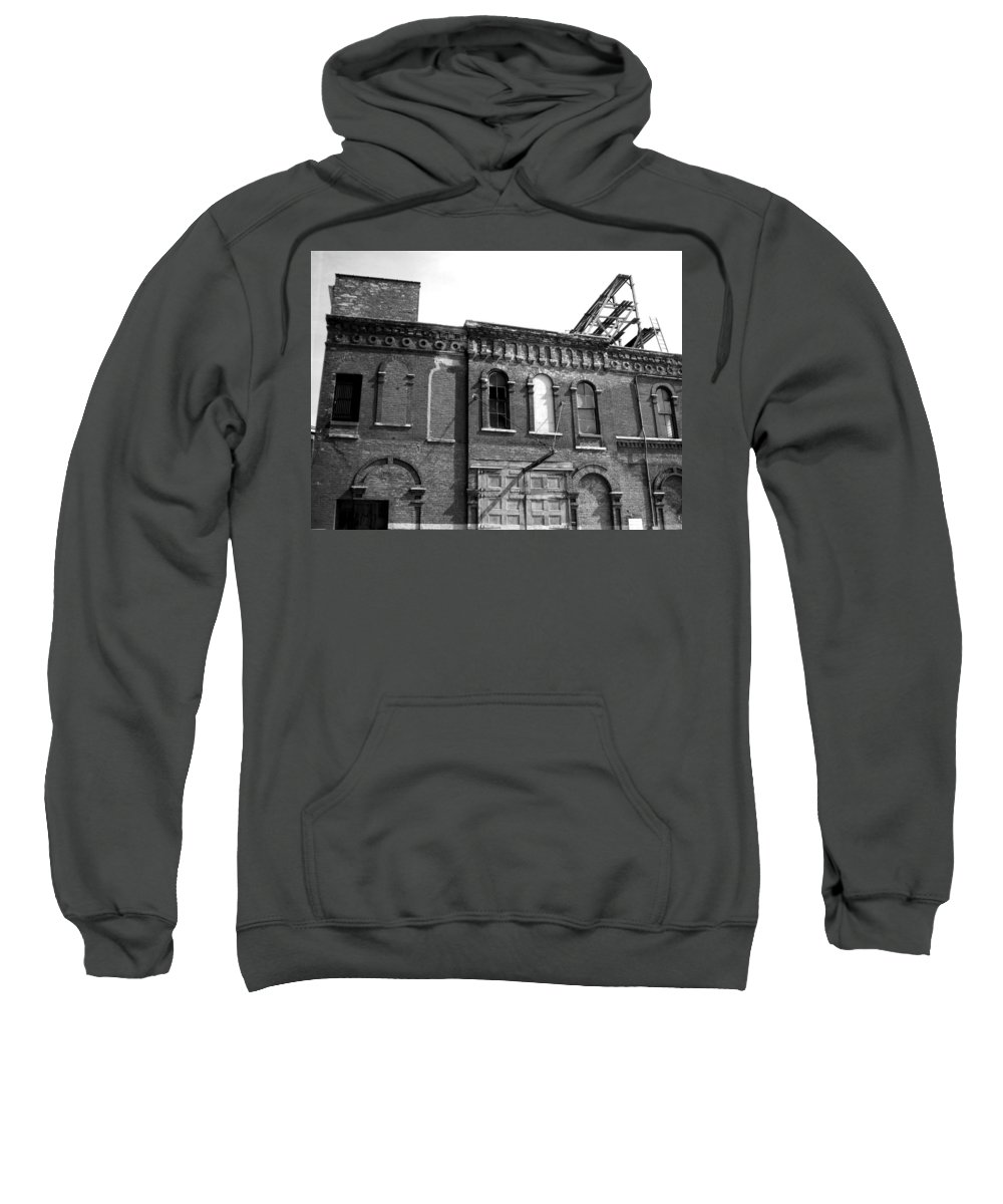 Milwaukee Sweatshirt featuring the photograph City Decay 1 by Anita Burgermeister