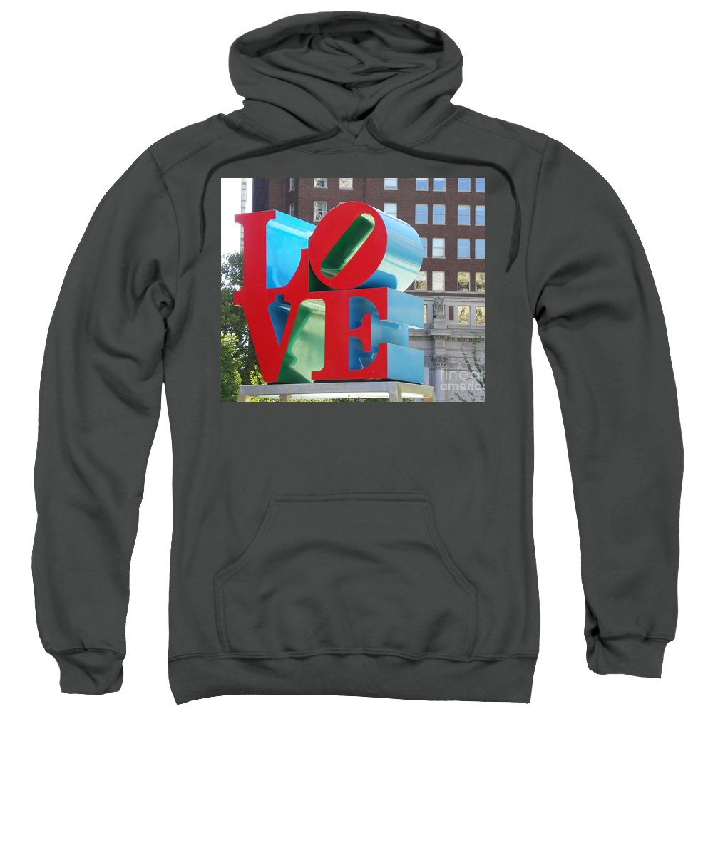 City Of Love Sweatshirt featuring the photograph City Of Love by Gerald Kloss