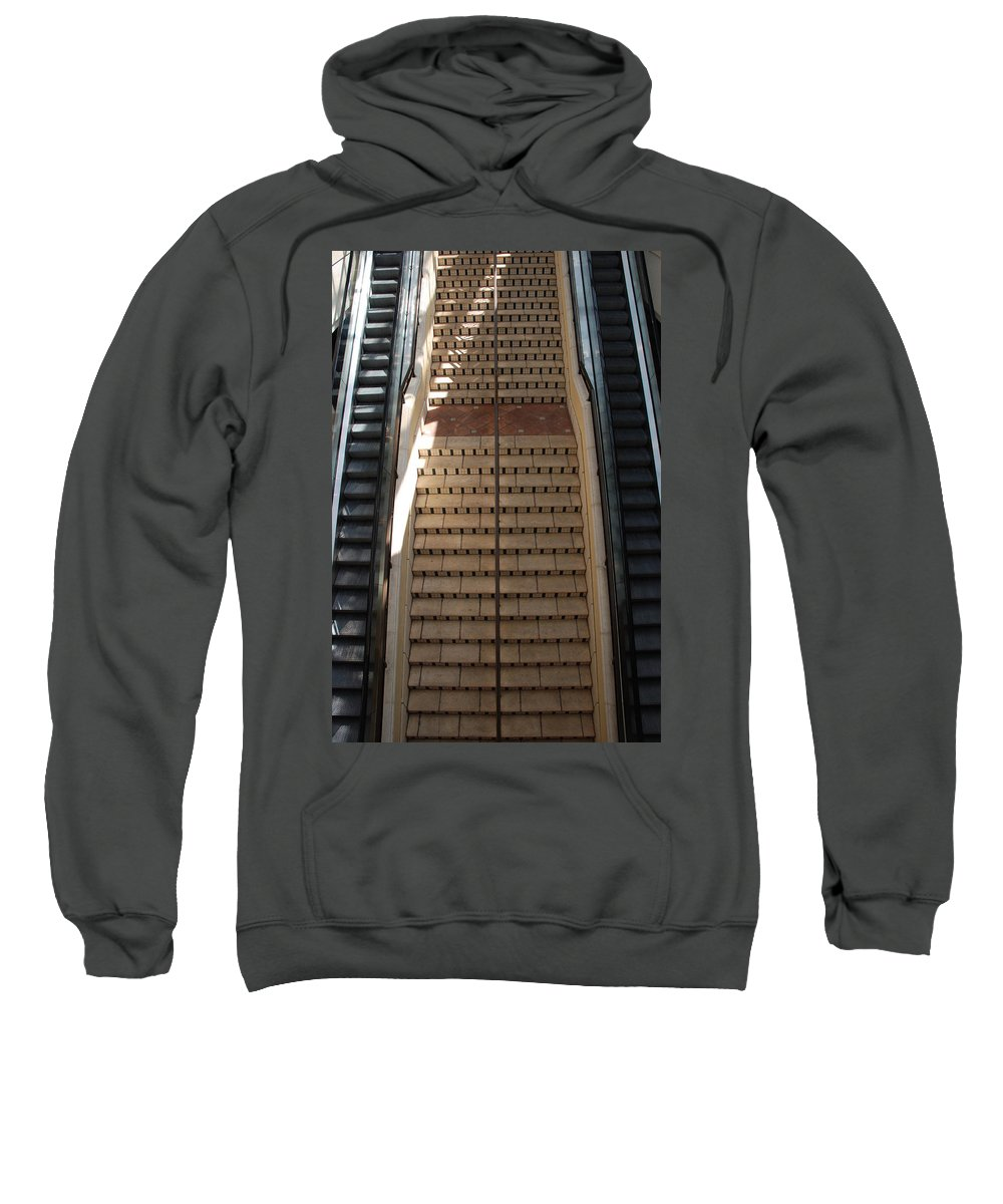 Stairs Sweatshirt featuring the photograph City Place Stairs by Rob Hans