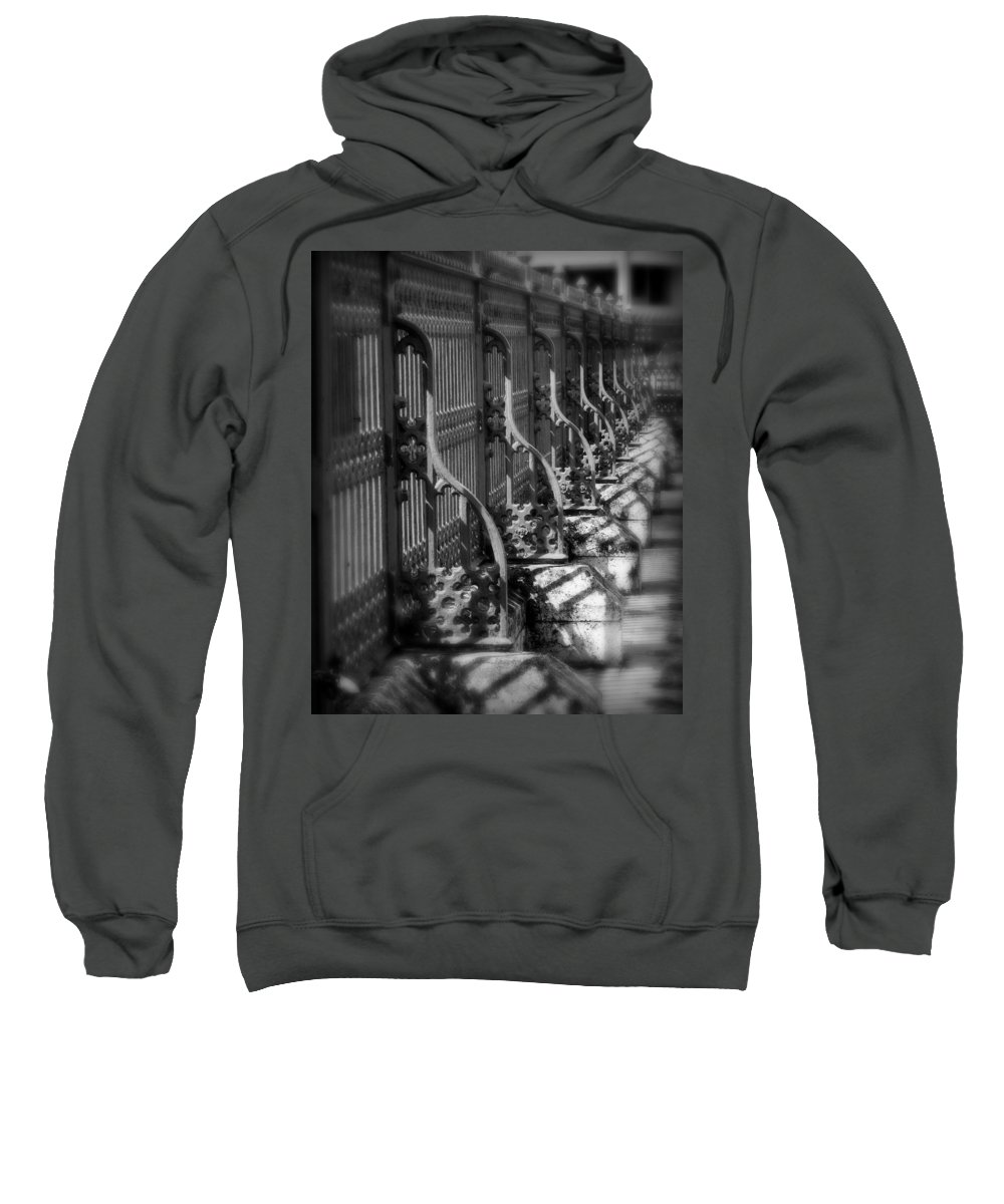 Fence Sweatshirt featuring the photograph Classic Fence by Perry Webster