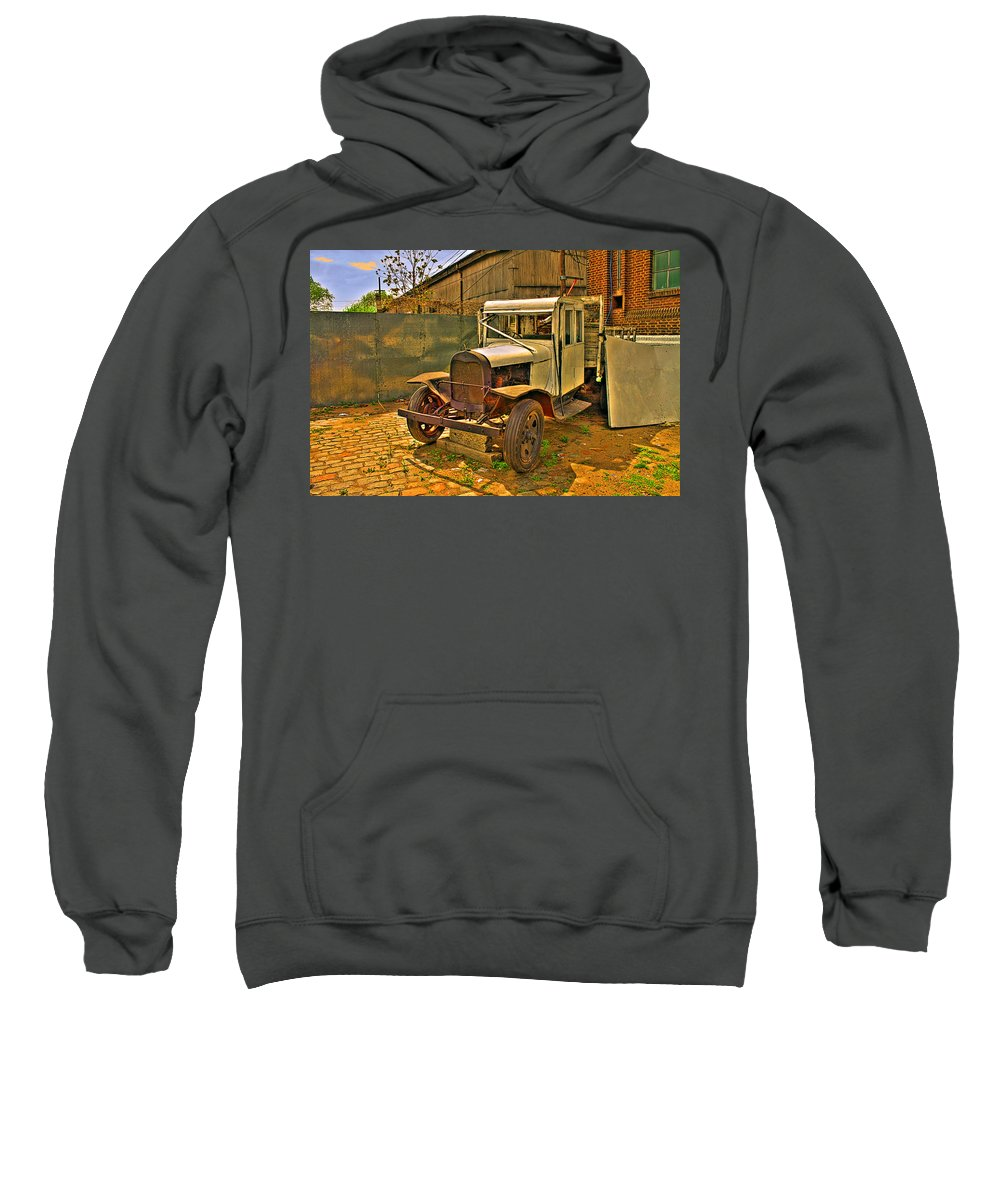 Cars Sweatshirt featuring the photograph Classic by Francisco Colon