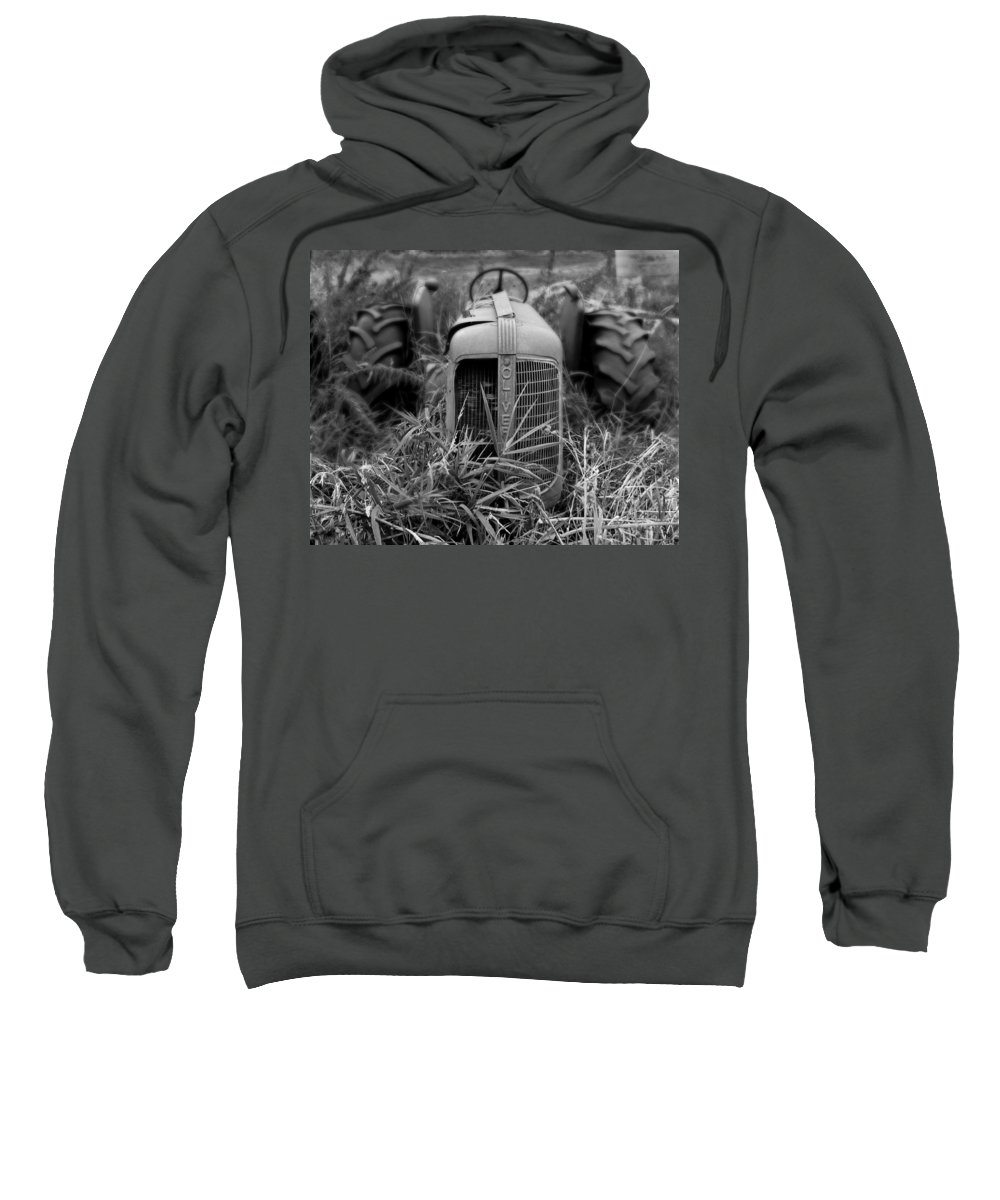 Tractor Sweatshirt featuring the photograph Classic Oliver by Perry Webster