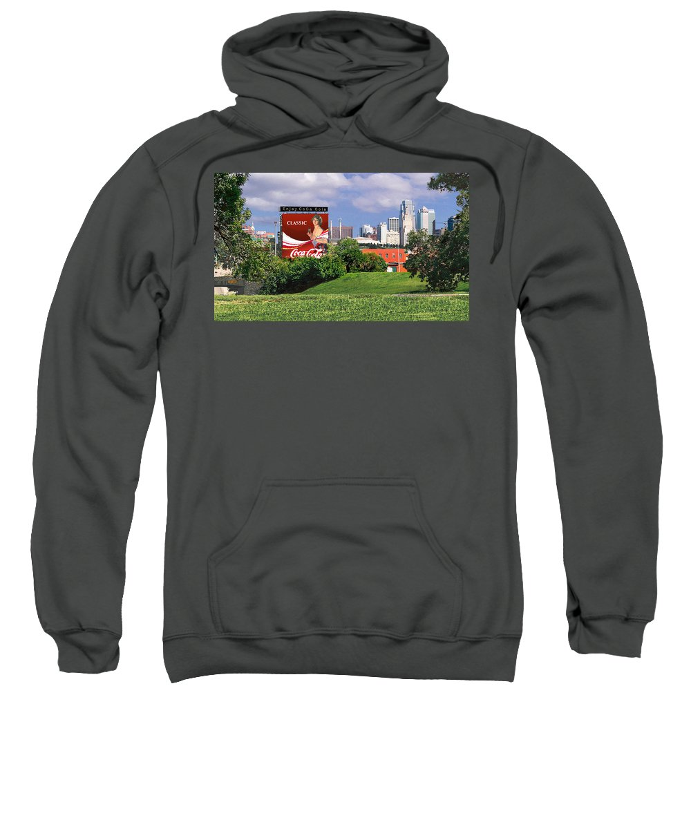 Landscape Sweatshirt featuring the photograph Classic Summer by Steve Karol