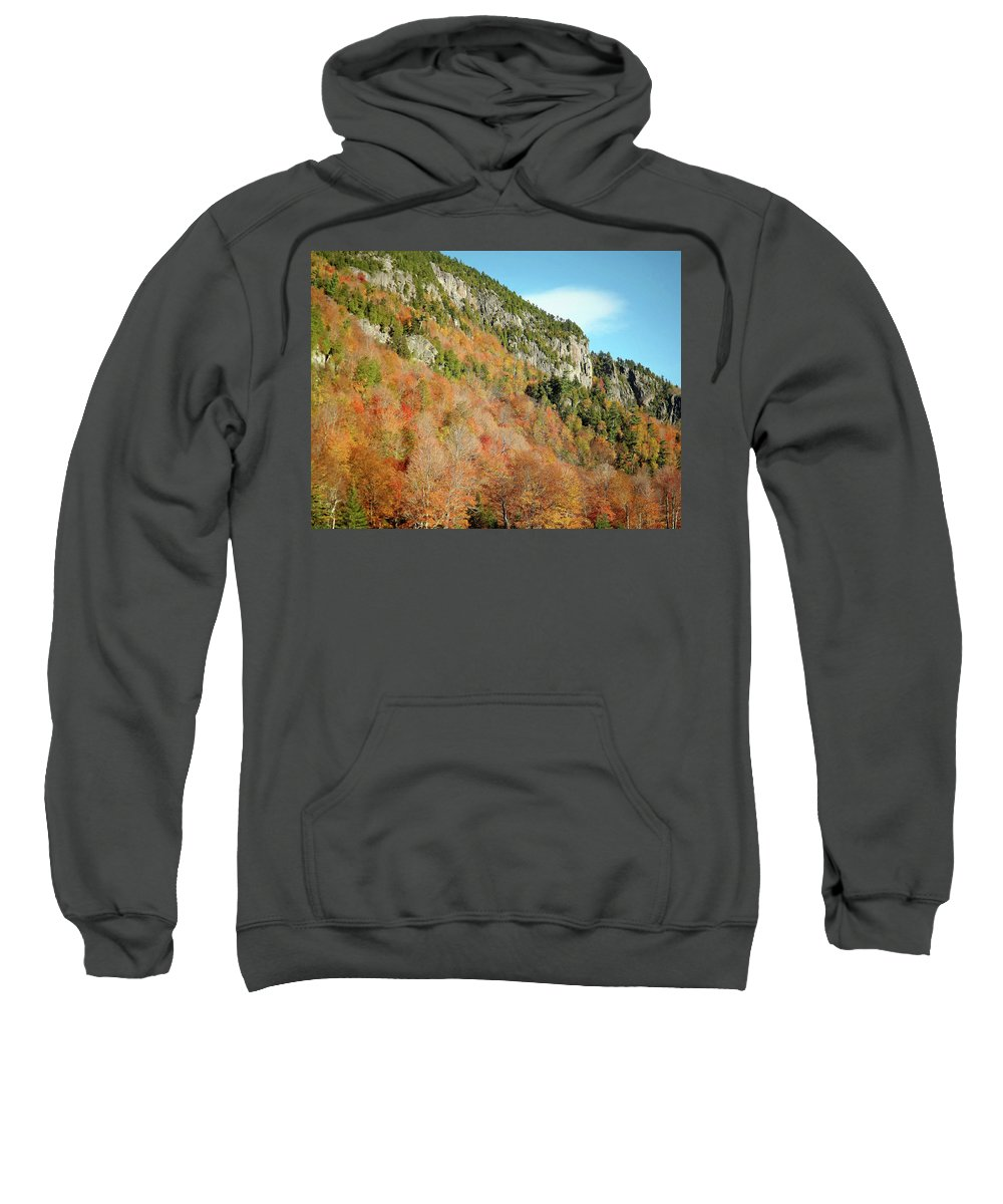 Cliff Sweatshirt featuring the photograph Cliff 2 by Joseph F Safin