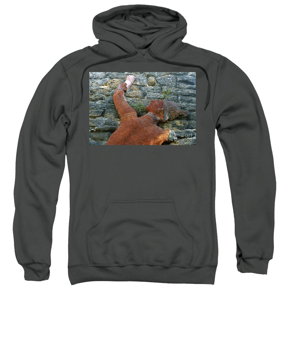 Tomoka State Park Sweatshirt featuring the photograph Climbing To Tomoka by David Lee Thompson
