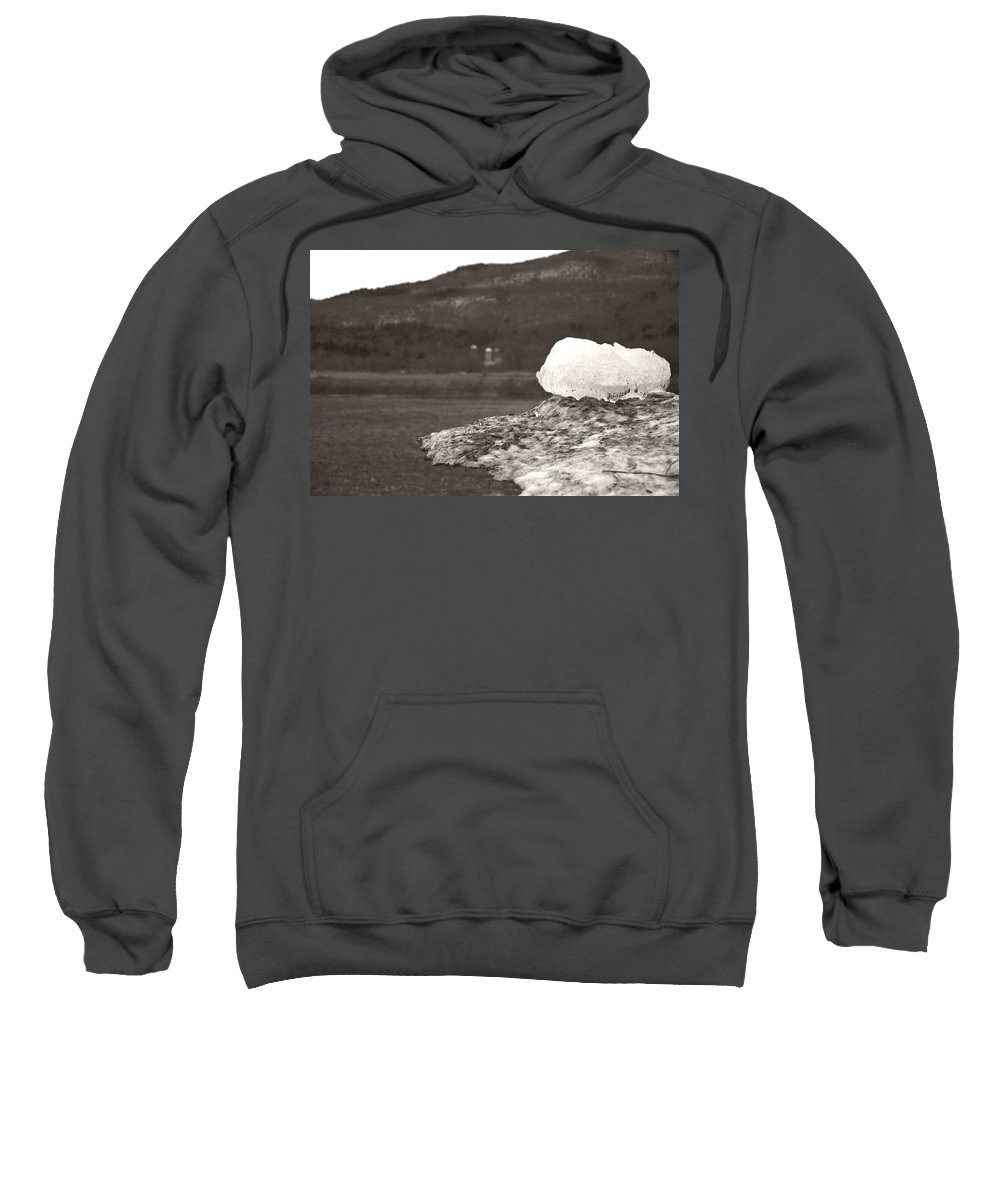 Sweatshirt featuring the photograph Closer Silo Berg by Heather Kirk