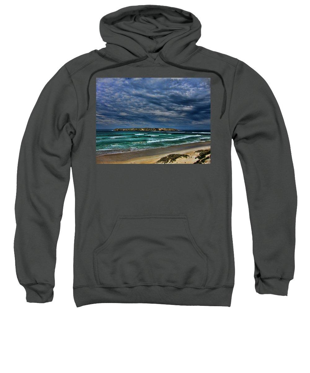 Clouds Sweatshirt featuring the photograph Cloud Spectacular by Douglas Barnard