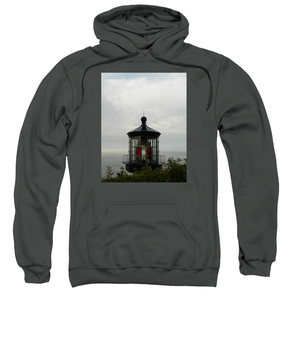 Oregon Sweatshirt featuring the photograph Clouded Morning by Gallery Of Hope