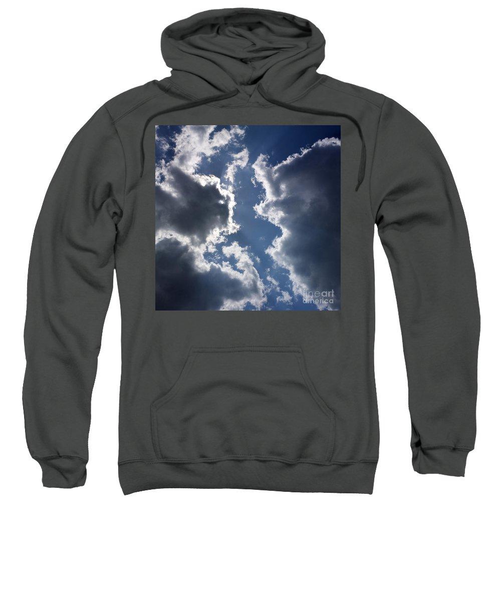 The Sweatshirt featuring the photograph Clouds by Bernard Jaubert