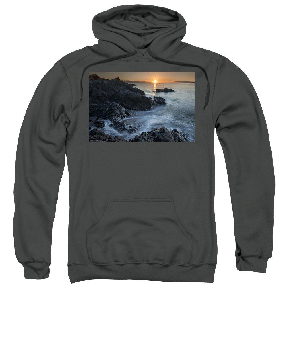 Deception Sweatshirt featuring the photograph Coast Of Grace by Ryan McGinnis