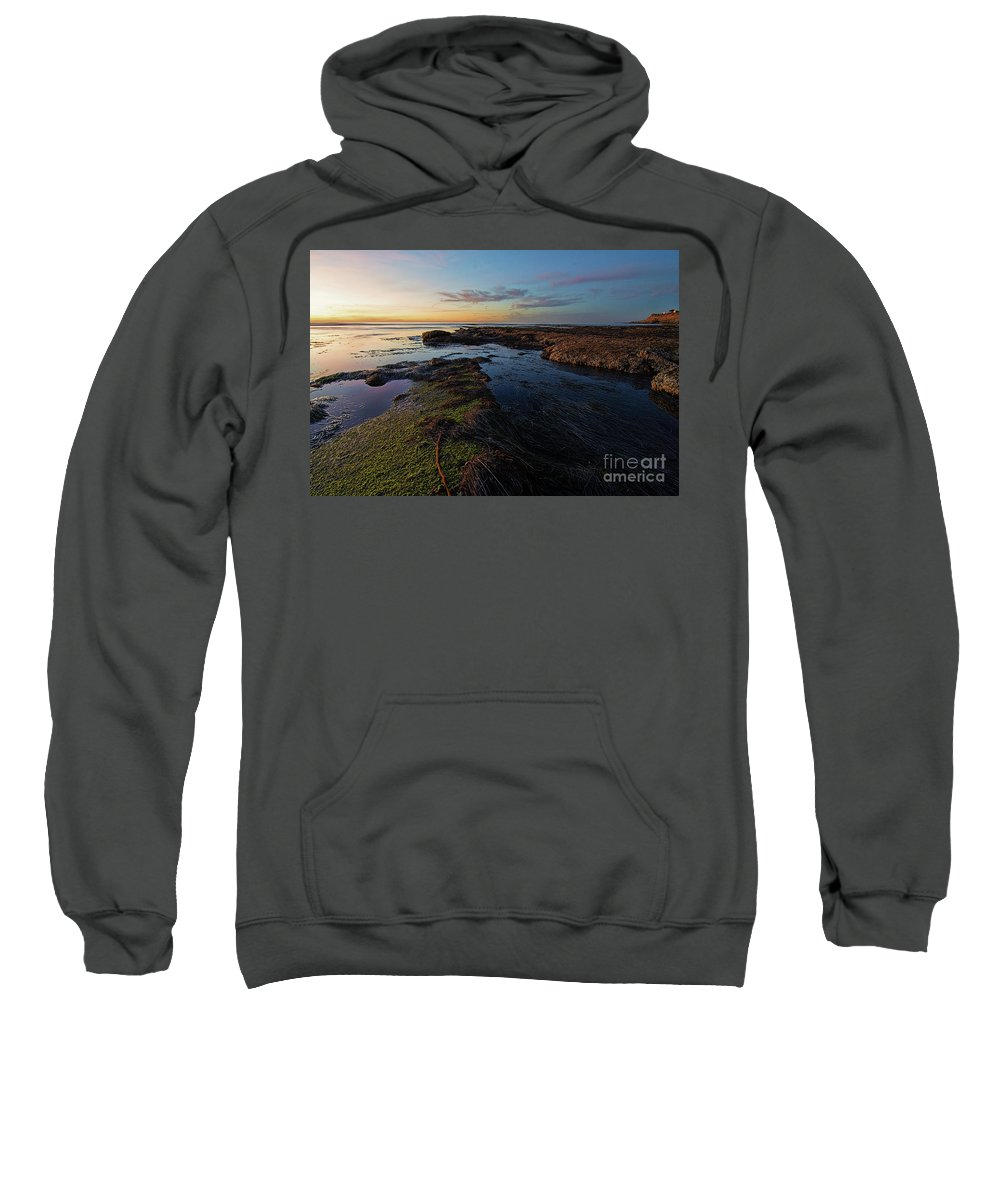 Beautiful Sweatshirt featuring the photograph Coastal by Amel Dizdarevic