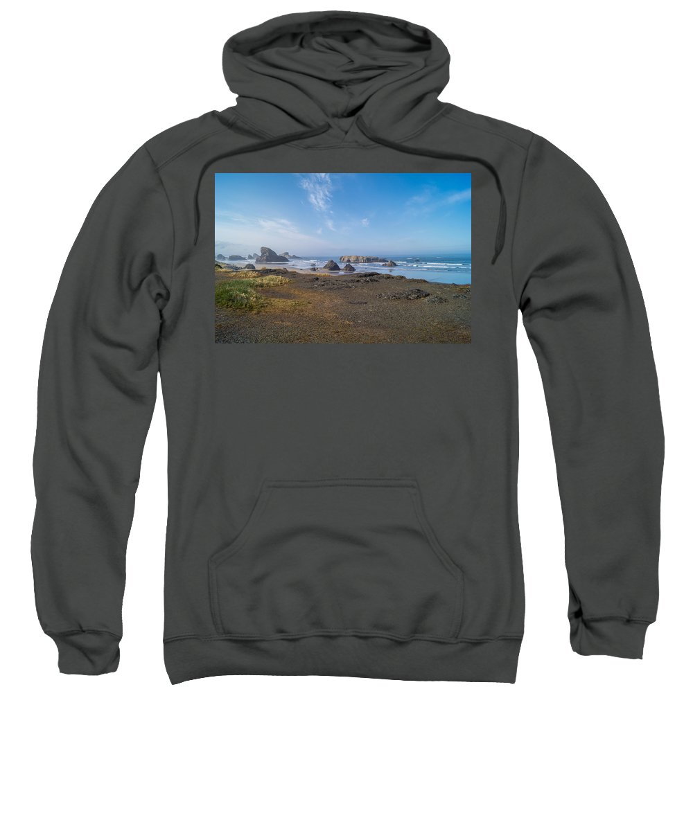 Ocean Sweatshirt featuring the photograph Coastie by Joe Albee