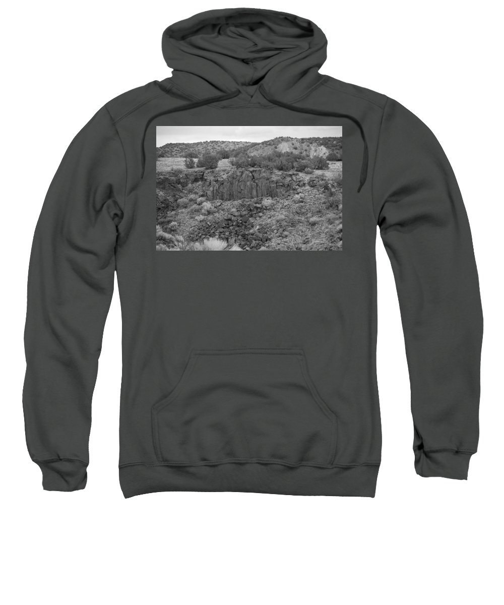 Rocks Sweatshirt featuring the photograph Cochiti Rocks by Rob Hans
