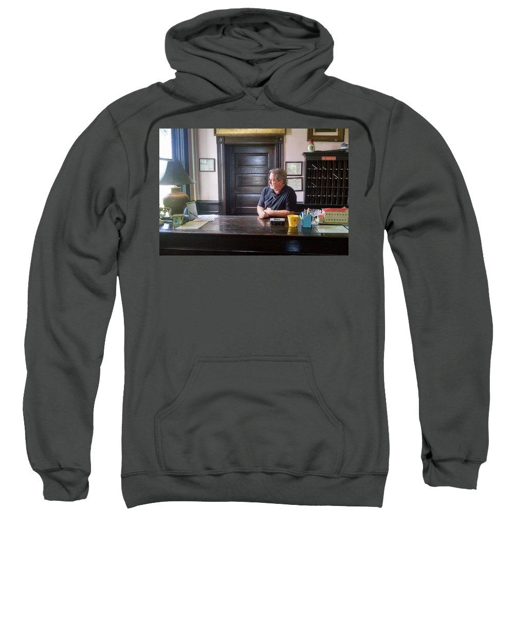 Reflection Sweatshirt featuring the photograph Cogitation... by J L Hodges