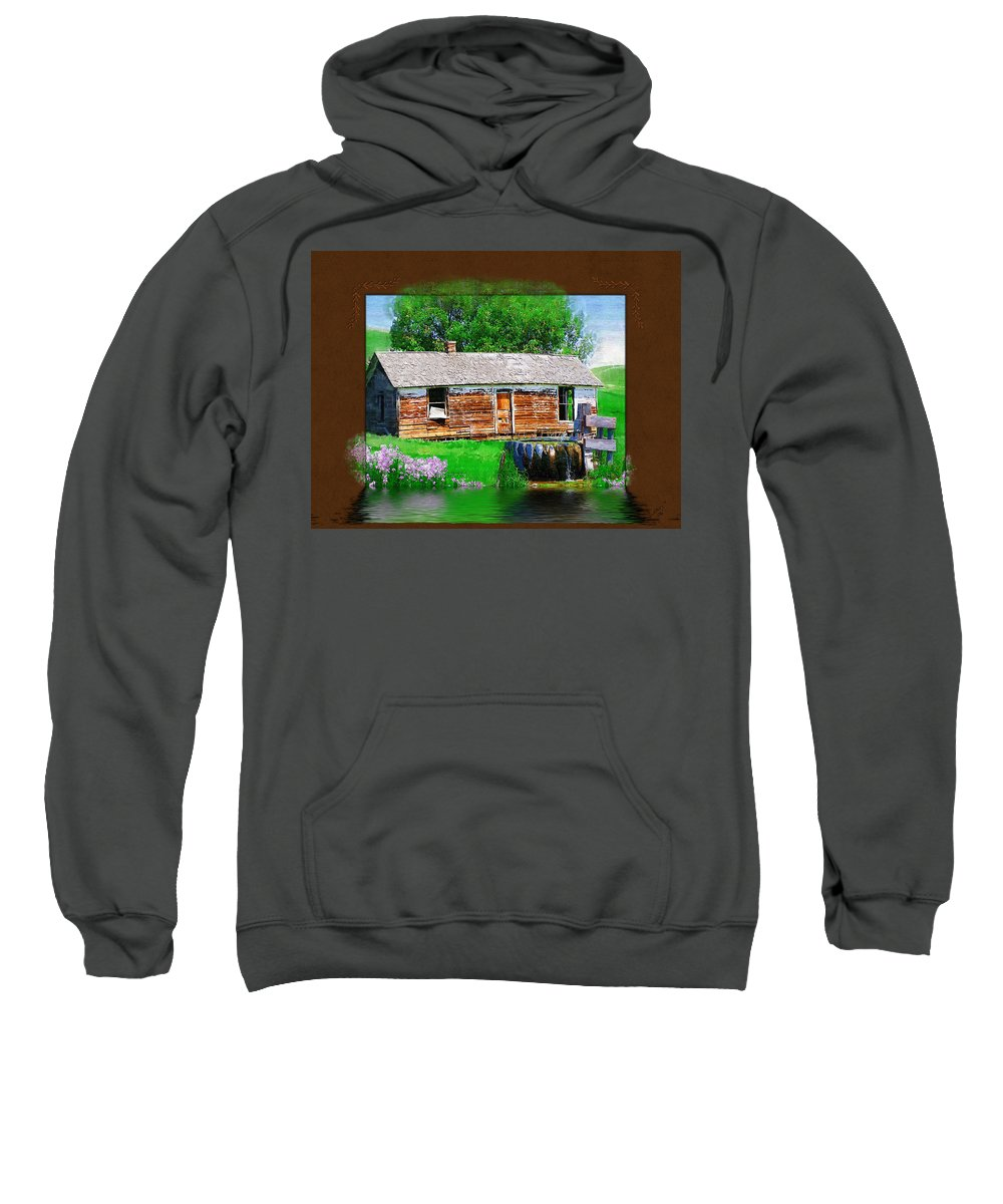 Collage Sweatshirt featuring the photograph Collage by Susan Kinney