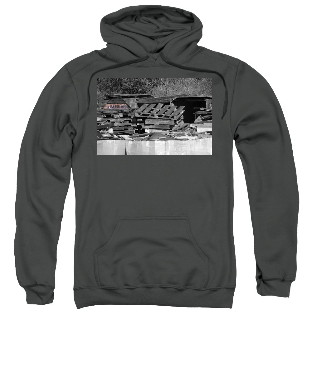 College Sweatshirt featuring the photograph College Bound by Gary Adkins