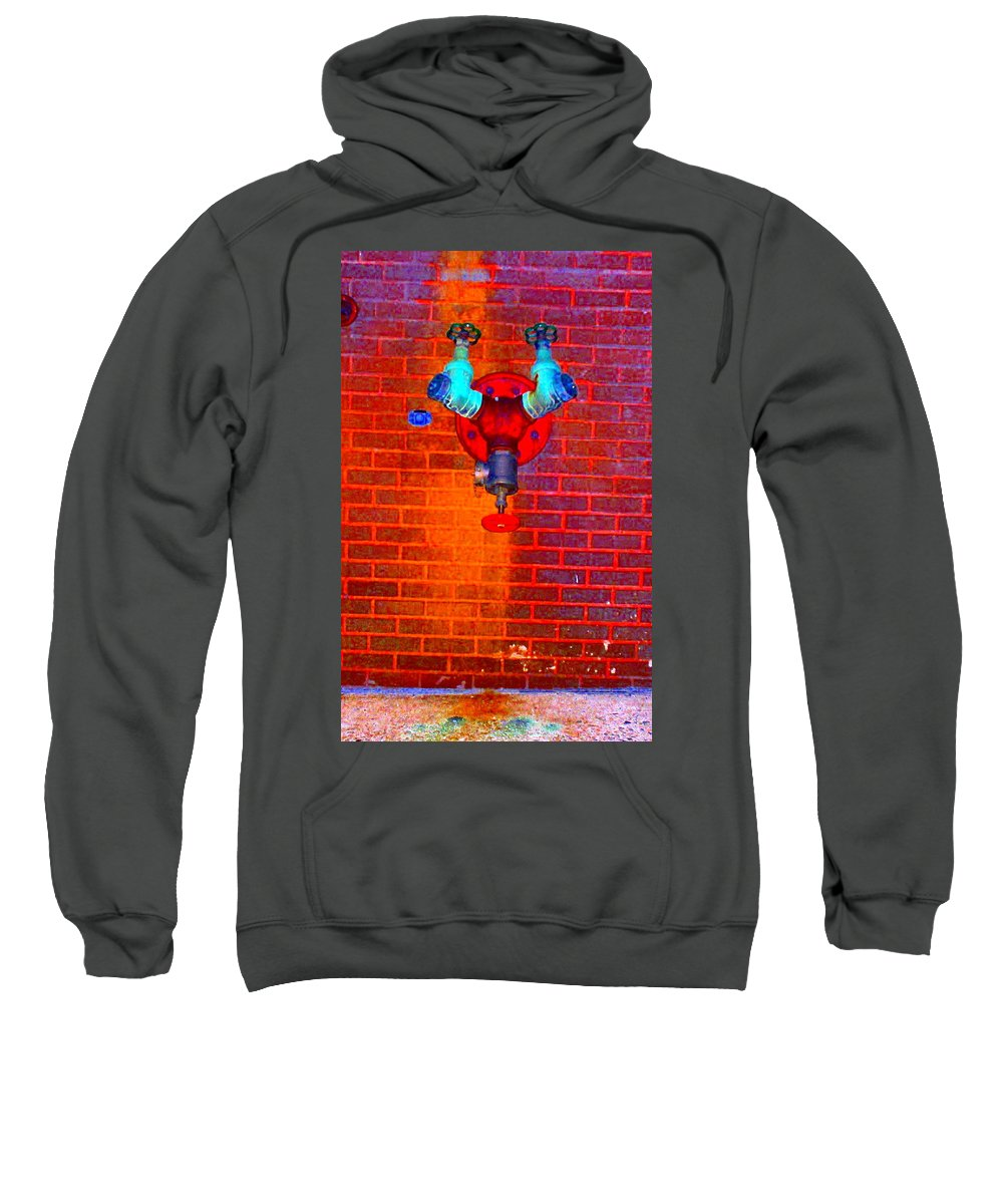 Color Photograph Sweatshirt featuring the photograph Color Pipe by Thomas Valentine
