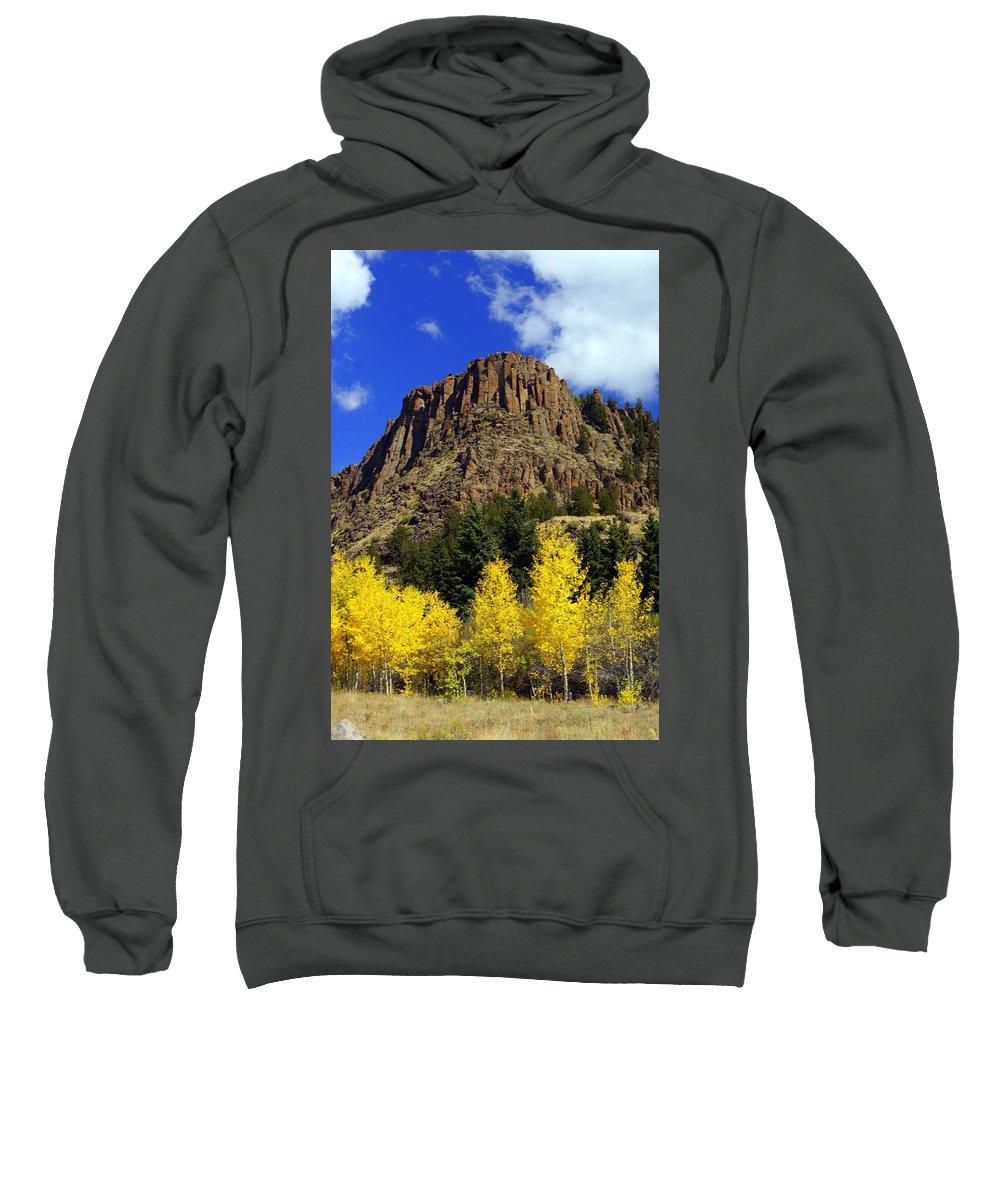 Colorado Sweatshirt featuring the photograph Colorado Butte by Marty Koch