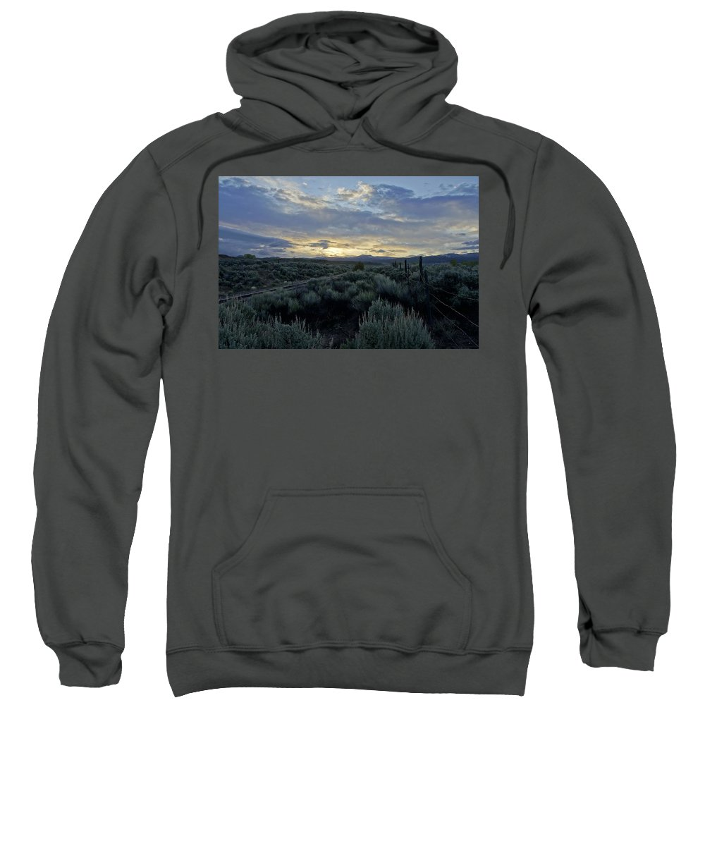 Horizontal Sweatshirt featuring the photograph Colorado Morning by Brian Kamprath