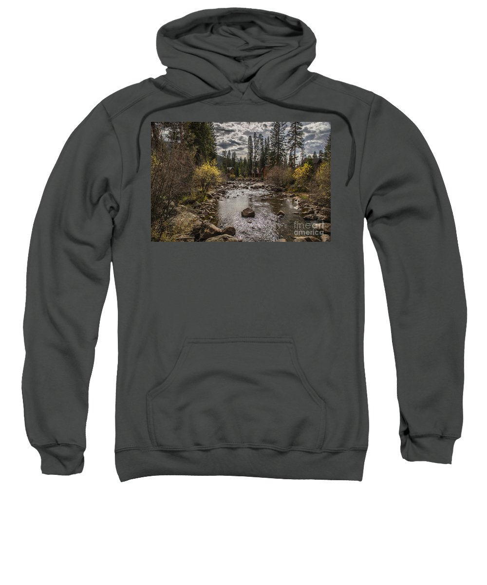 Sipping On Coffee Sweatshirt featuring the photograph Colorado Mornings by Lynn Sprowl