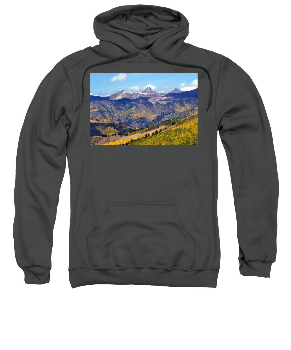 Mountains Sweatshirt featuring the photograph Colorado Mountains 1 by Marty Koch