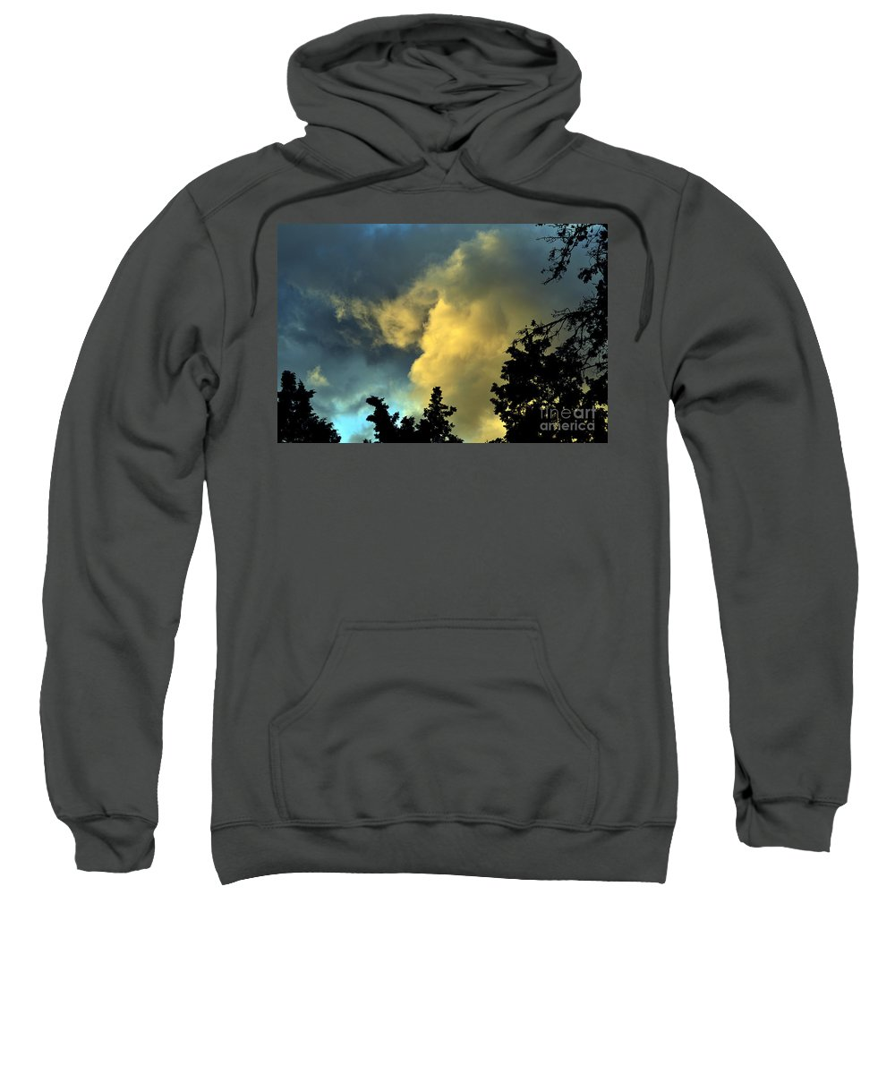Clay Sweatshirt featuring the photograph Coloring Clouds by Clayton Bruster