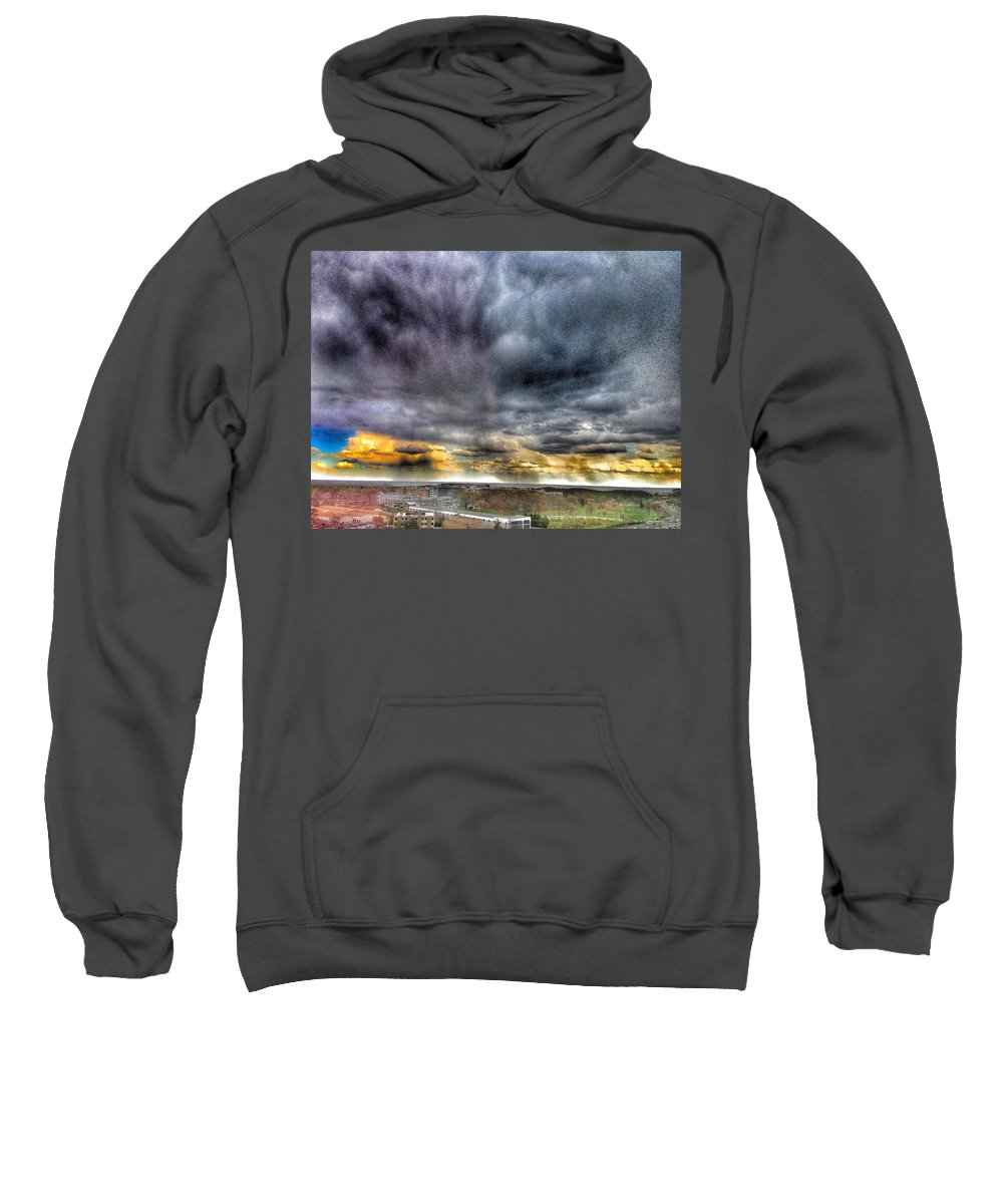 Sky Sweatshirt featuring the photograph Colors by Kate McGlynn